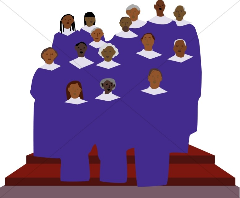 Serenade clipart choral American choir African clipart African