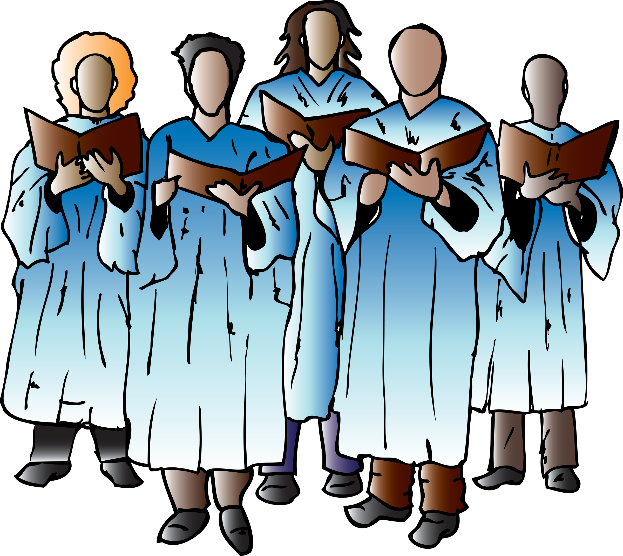 Choir 3 Clipartix american clipart