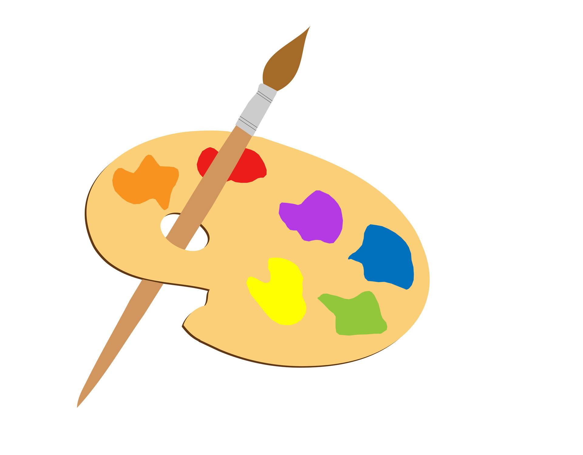 Paint clipart artistic Art public domain clip clipart