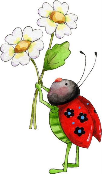 Bugs clipart flowery Images Photos  Pin about