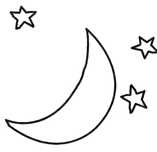 Night clipart moon star Images Clipart Smiley Moon