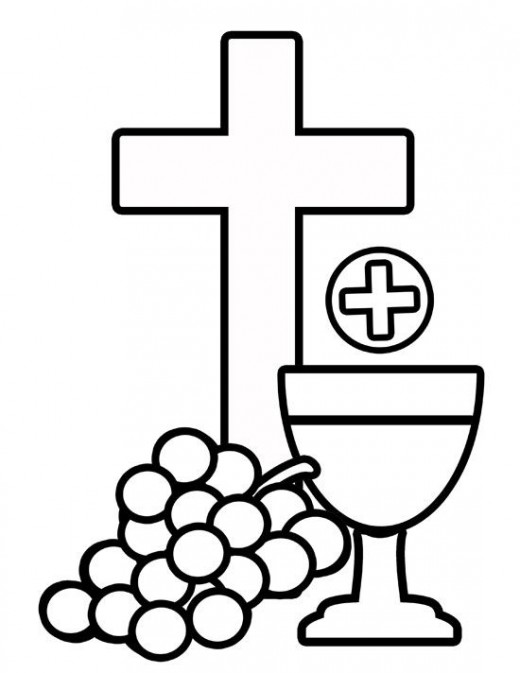 Stained Glass clipart communion cup Clipart Communion Baptism Art Free