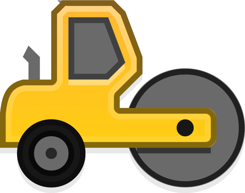 Vehicle clipart roller Free Construction clipart clipart images
