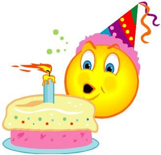Smiley clipart cake Of images misc popular birthday