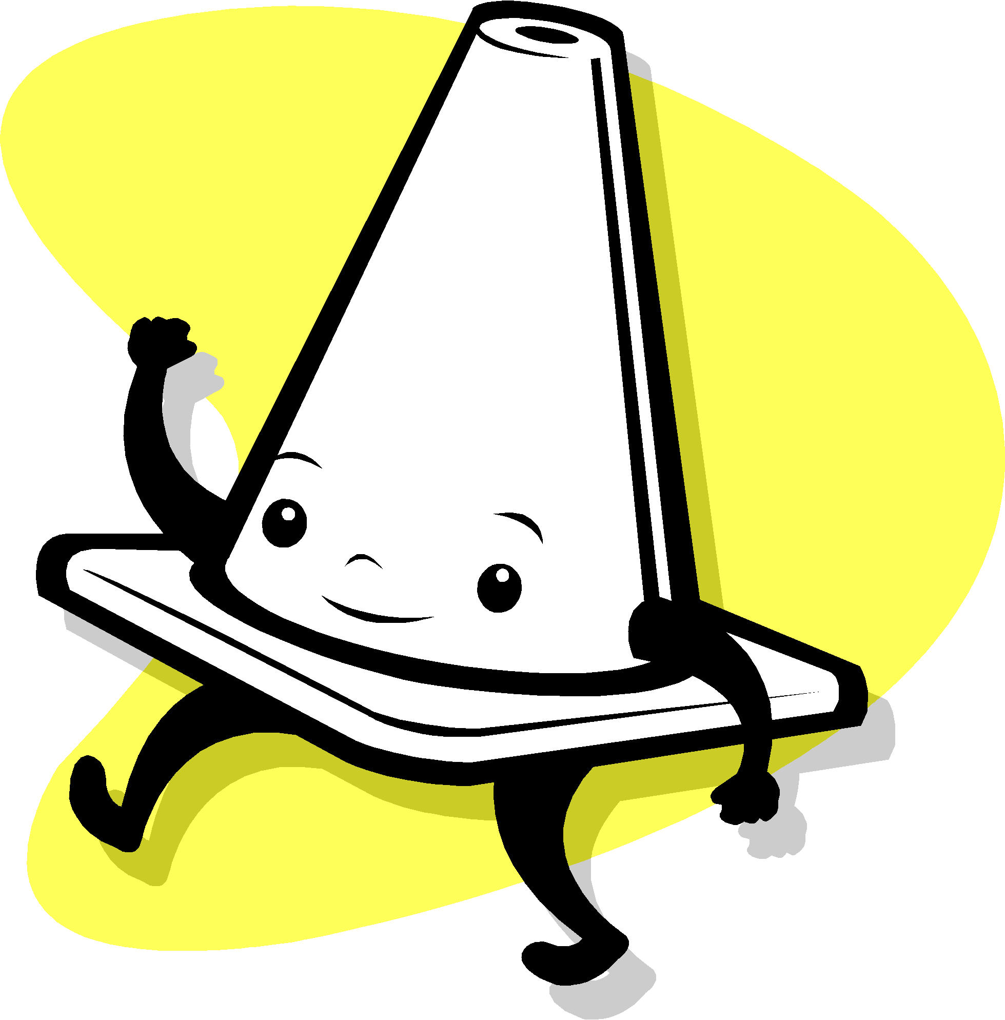 Misc clipart safety cone Clip art Safety photos Workplace