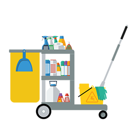Trolley clipart housekeeping Co Group Service AKC