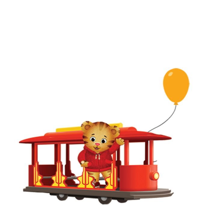 Trolley clipart daniel tiger Images Pinterest about Tigers best