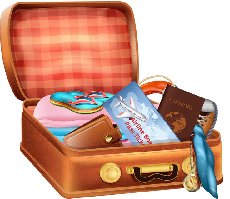 Travel clipart holiday suitcase Яндекс on clip Фотки about
