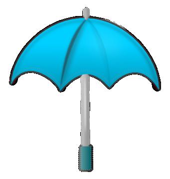 Moving clipart umbrella Free art domain to 2