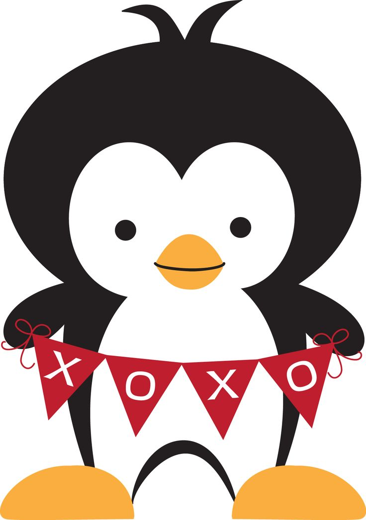 Penguin clipart kiss 1 148 Pinterest  best