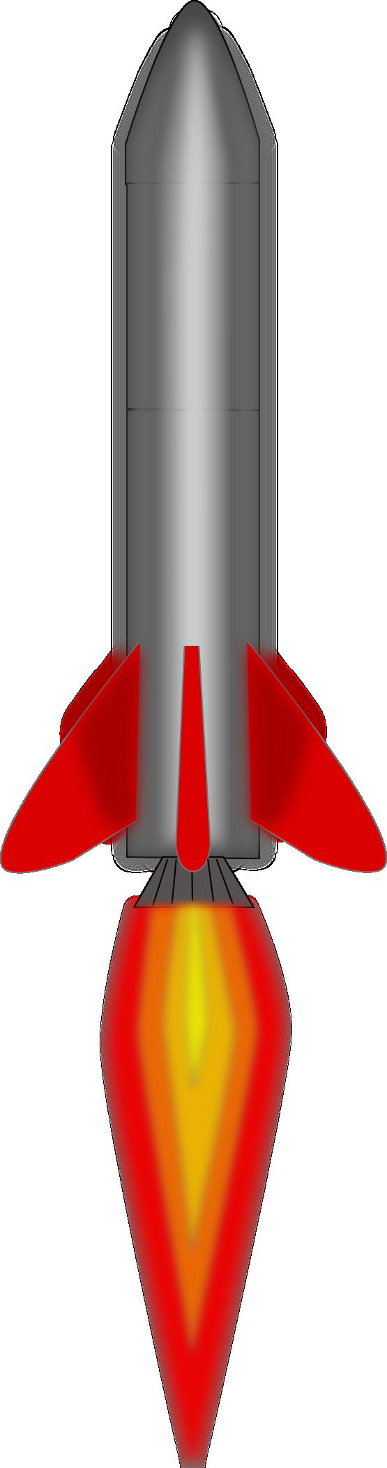 Missile clipart rocket booster Missile Art Free Clip Missile