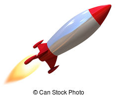 Missile clipart bottle rocket  Illustrations Art isolated Clip