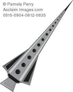 Missile clipart rocket A of Illustration Illustration a