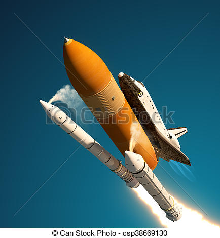 Missile clipart rocket booster Space Boosters Shuttle Boosters Space