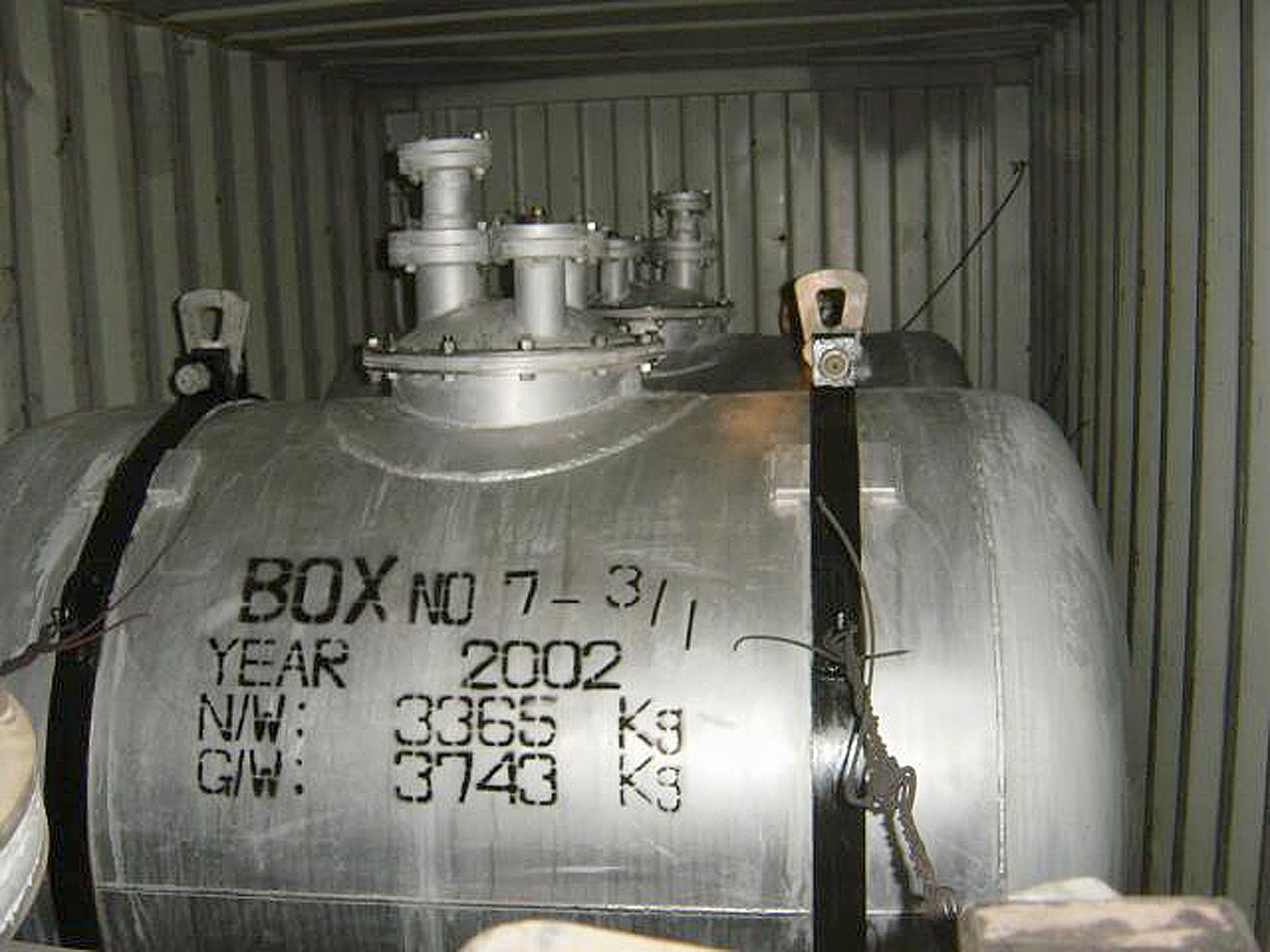 Missile clipart scud missile Scud And Equipment Aboard Missile