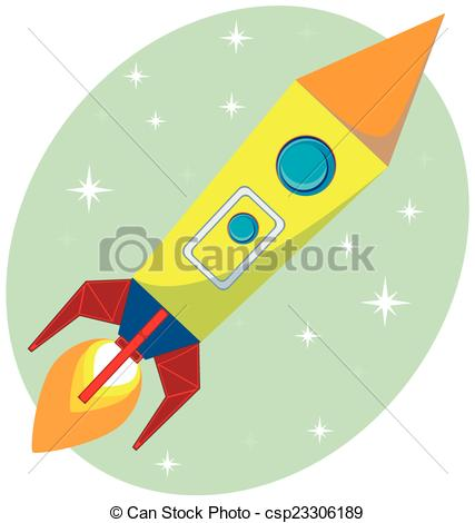 Missile clipart space rocket Flight the the csp23306189 of