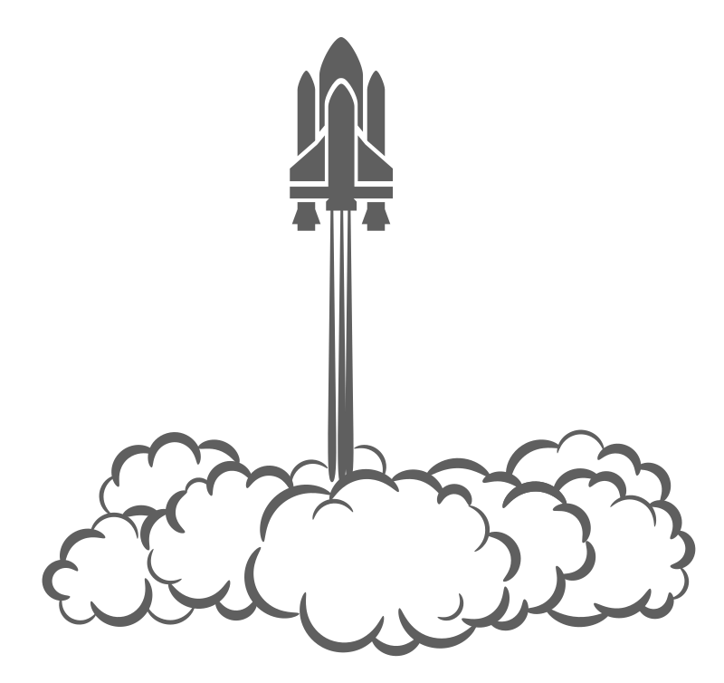 Missile clipart space shuttle launch #4