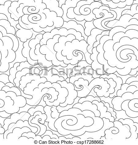 Mist clipart black and white #13