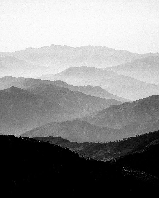 Mist clipart black and white #5