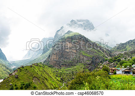 Mist clipart the mountain Of mountain the in Indian