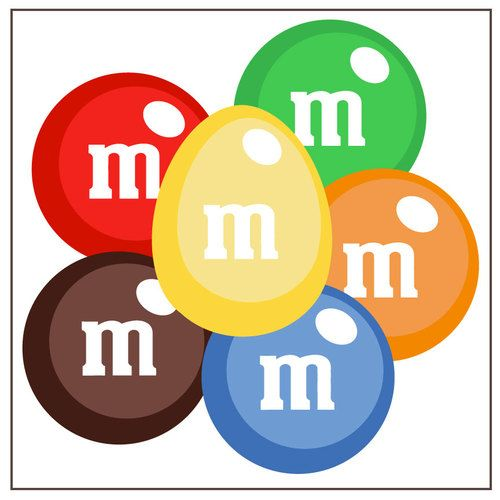 M&m's clipart red FreeClipart On And Clip Rainbows