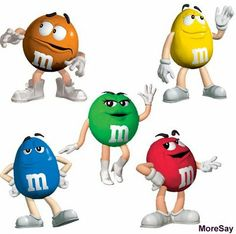 M&m clipart animated  by Blog: Characters Publish