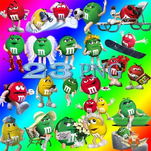 M&m clipart animated Best cartoon M images clip