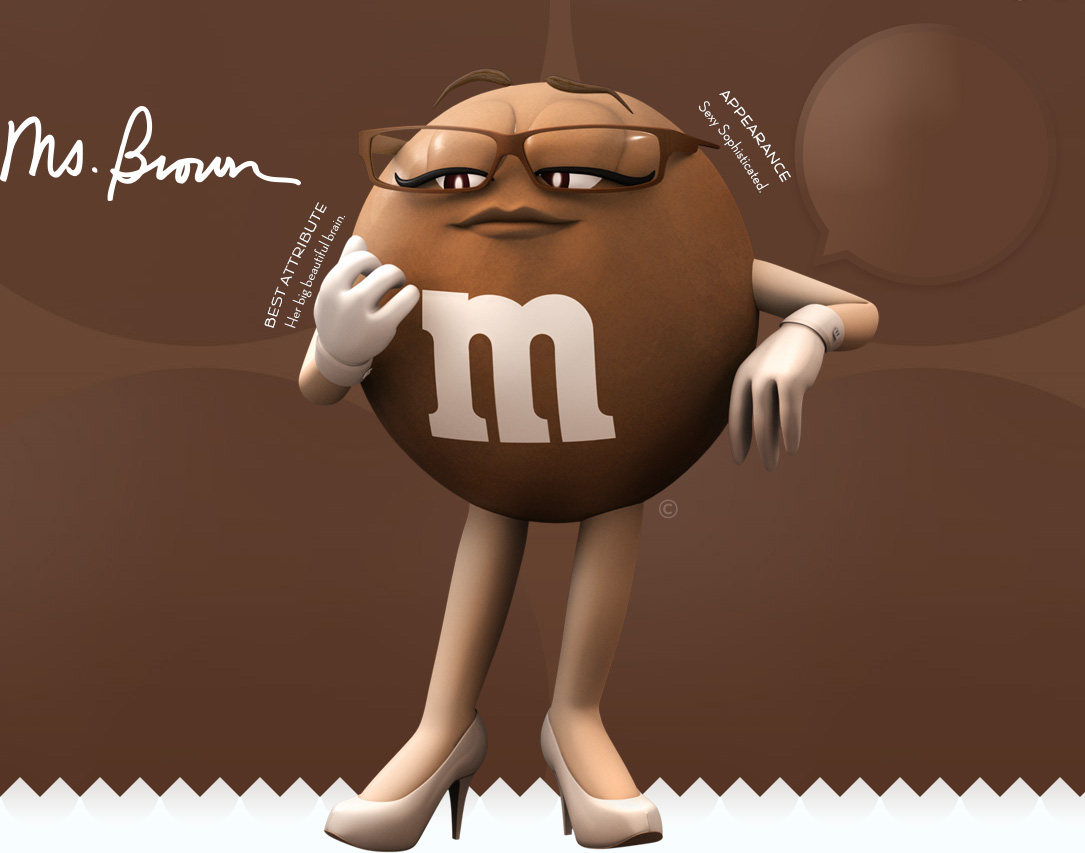 M&m clipart brown  M&M'S® Ms Brown