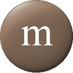 M&m clipart brown Icon 256x256 pixels M&M smooth