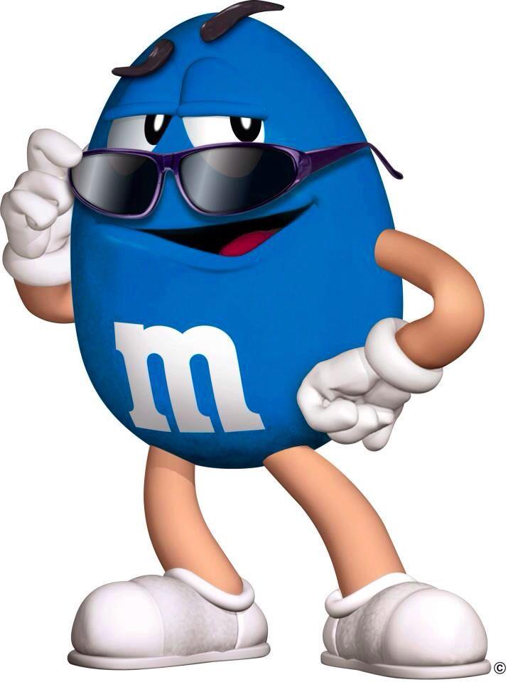 M&m's clipart mand Clip M Images & Blue