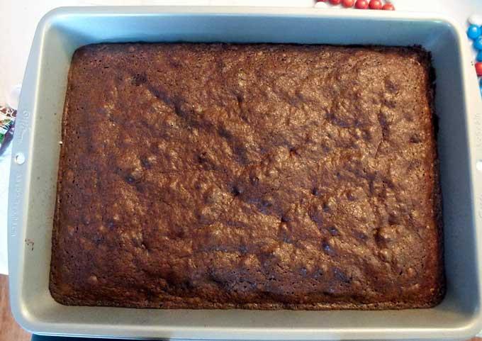 Brownie clipart pan brownie Of or M&M would Flag