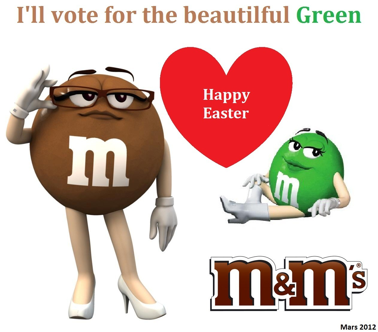 M&m clipart female M&M's powered by  Chocolate