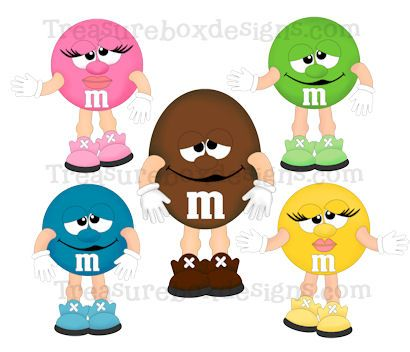 M&m clipart female This 47 M M and