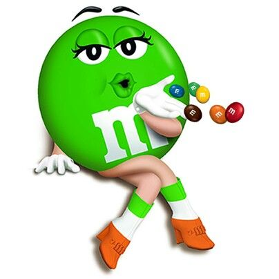 M&m clipart green Best 162 on M&M'S Green