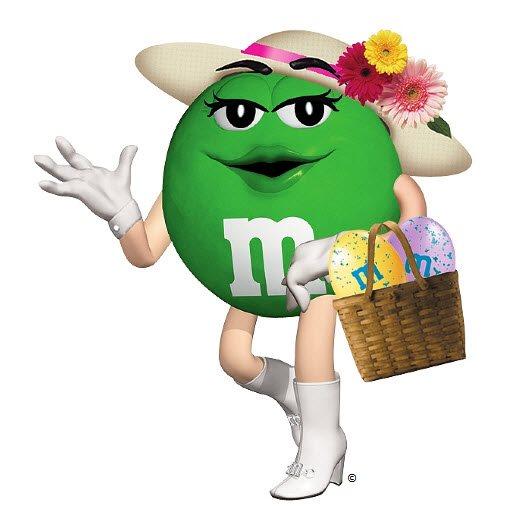 M&m clipart green M M's a M &