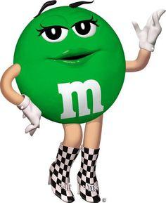 M&m clipart green  Yellow M&M's Dispenser queen