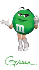 M&m clipart green 51 Characters World® M&M best