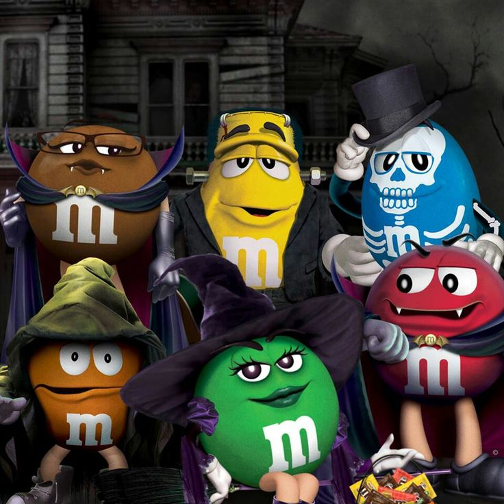 M&m clipart halloween Characters and images M&M 27