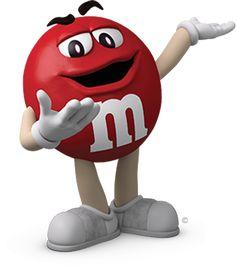 M&m clipart mascot Third & M M's love