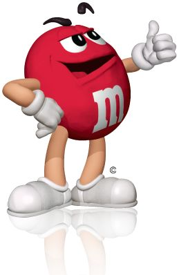 M&m clipart mascot Pinterest M&M about 24 rojo