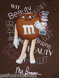 M&m clipart mrs brown On Brown M Small M&M's