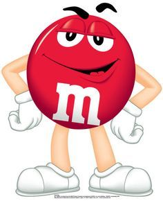 M&m's clipart red Best M&M on 38 m&m