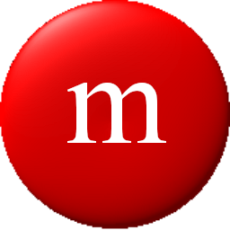 M&m's clipart red Edges pixels smooth M&M Icon