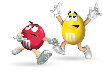 M&m's clipart red M&M and Stopgap Yellow memorable