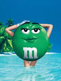 M&m clipart wallpaper The water green splashing green