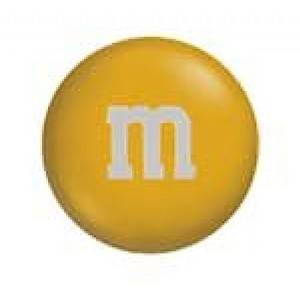 M&m clipart yellow M Gold Polyvore M&M's Candy