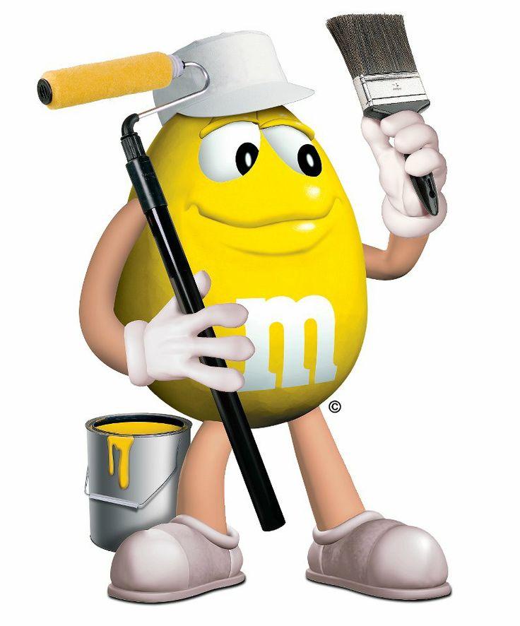 M&m clipart yellow Clip paint Pinterest 123 best
