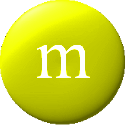 M&m clipart yellow Edges Yellow M&M smooth pixels