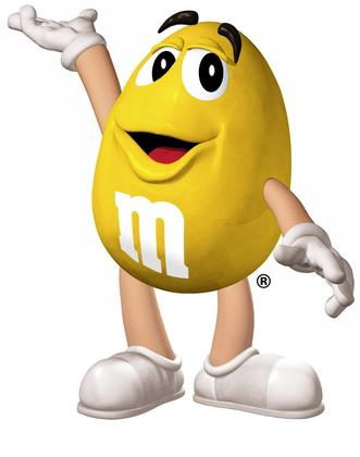 M&m clipart yellow CHARACTER favorite! characters FM RADIO