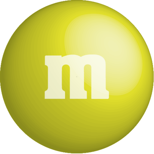 M&m clipart yellow Chocolate Pack icon m&m's colour